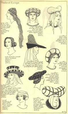 Village Hat Shop Gallery :: Chapter 7 - Medieval or Gothic Europe :: 57_G_001
