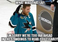 Gotta save this one for later in the season Shark Pictures, Nhl Hockey Jerseys, Rugby Sport, San Jose Sharks, Ice Hockey, I Laughed, Honda, Teal, Ben Platt