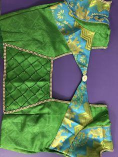 Best 12 My work Patch Work Blouse Designs, Kids Blouse Designs, Simple Blouse Designs, Blouse Back Neck Designs, Stylish Blouse Design, Cotton Saree Blouse Designs, Sari Blouse, Floral Blouse, Traditional Blouse Designs