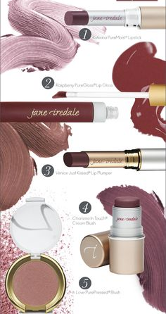 Loving the color of the year - Marsala Pantone! Check out some of Jane Iredale's Marsala Products