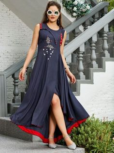 LKFABKART is a wholesale indian ethnic wear garments dealer and supplier with brands at factory rates. Indian Dresses, Indian Outfits, Stylish Kurtis Design, Fancy Kurti, Kurti Patterns, Sewing Patterns, Kurti Collection, Indian Ethnic Wear, Indian Designer Wear