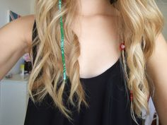 hair wrap and hair beads