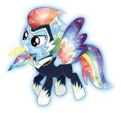 Rainbow Zapp Crystal by InfiniteWarlock.deviantart.com on @DeviantArt