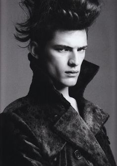 Sean OPry Modeling: His Best Editorial Photo Moments image Sean Opry Numero Homme Fall Winter 2008 Greg Kadel