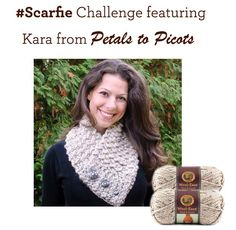 """Crochet a """"Quick and Comfy"""" Cowl in Wool-Ease Thick"""