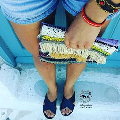 Kourelou bohemian clutch with tassels -details  Leather black  espadrilles platform 4cm ● 100% LEATHER ●  Σανδάλι με υπερυψωμένο πάτο από σχοινί 4cm. Ειναι πολύ αναπαυτικά με μαλακό πατο   EU size 35 - 42 for women    #tailoredbyvivian #greekdesigners #greece #madeingreece #summer #greeksandals #leathersandals #ladies #girls #outfitoftheday #outfit #betheone #betailored #worldwideshipping #worldwide #boho #bohochic #bohemian #bohosandals #tattoo #ladytattoo #rosetattoo Black Espadrilles, Greek Sandals, Leather Sandals, Workshop, Boho, Instagram Posts, Handmade, Fashion, Moda