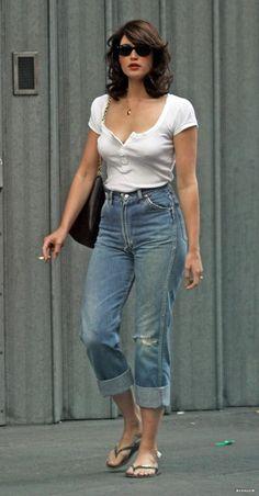 Gemma Arterton in Wrangler Jeans