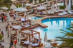 We party by the pool at Destino Ibiza