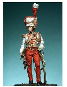 Aliexpress.com : Buy 1/24 Scale French guards the second gun cavalry regiment…