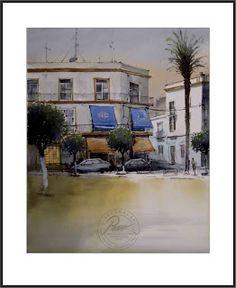 PAEZ GALLERY: Pintando en el Arahal