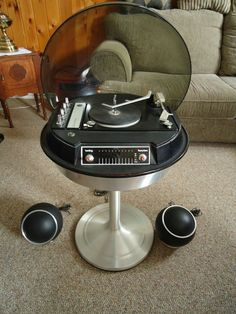 Vintage Electrohome Apollo Space Age Stereo from sweetcandy on Ruby Lane