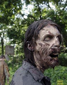 Zombie Photo from The Walking Dead Season Episode 6 Walking Dead Season 4, Walking Dead Zombies, The Walking Dead 3, Gothic Horror, Horror Art, Evil Dead, Zombie Art, Zombie Pics, Zombie Monster