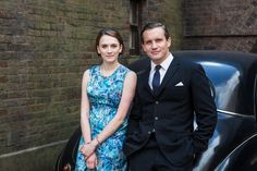 Jack Ashton and Helen George in Call the Midwife (2012)