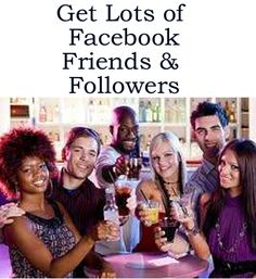 How to Get Lots of Facebook Friends & Followers http://fiverr.com/chivvy/send-you-over-50-links-to-facebook-pages-and-groups-where-you-can-invite-people-to-add-you-as-a-friend