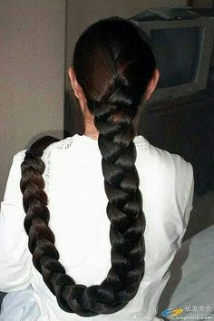 A totally new look for you. After the service it was put up Indian Long Hair Braid, Long Hair Ponytail, Braids For Long Hair, Ponytail Hairstyles, Slick Hairstyles, Beautiful Braids, Beautiful Long Hair, Long Hair Tips, Super Long Hair