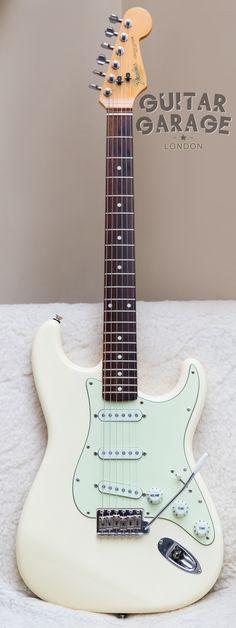1989 Fender Japan 62 Vintage Reissue Stratocaster Olympic White