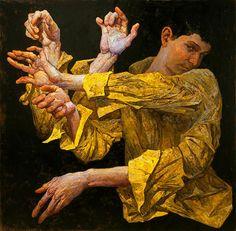 denis sarazhin oil painting
