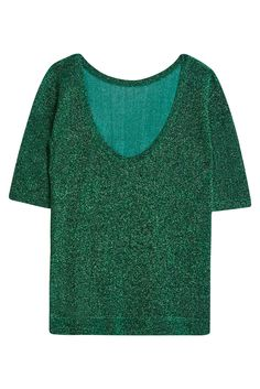 SS16 | Missoni Green Lurex Top. Available in-store and on Boutique1.com