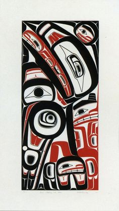 Haida inspired, Robert Davidson.