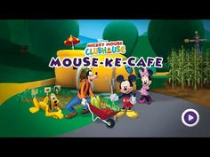 Mickey Mouse Clubhouse Full Episode - Mickey's Mouse-Ke-Cafe - Disney Junior Games
