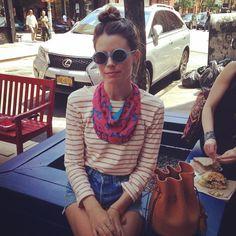 ROARKE New York Ikat Necklace @roarkenyc