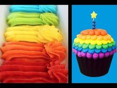 RECETA del GLASEADO de Crema de Mantequilla – Perfecto para decorar Tortas y Cupcakes - YouTube