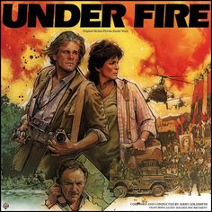 """Under Fire"" (1983, Warner Brothers).  Music from the movie soundtrack."