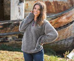 Appalachian Pile Sherpa Pullover
