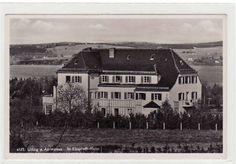 Alte Ansichtskarte Utting am Ammersee Sankt Elisabeth-Heim 1940