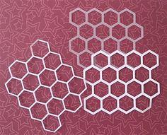 Brother Scan n Cut - Honeycomb Stencil