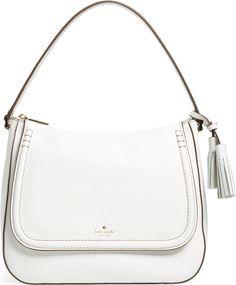 •Website: http://www.cuteandstylishbags.com/portfolio/kate-spade-new-york-bright-white-orchard-street-treana-leather-shoulder-bag/ •Bag: Kate Spade New York Bright White 'Orchard Street – Treana' Leather Shoulder Bag