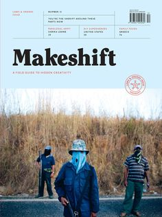 Makeshift is a field guide to hidden creativity. We believe ingenuity can be found anywhere if you know where to look. Let us tag along on your creative pursuit. Layout Inspiration, Graphic Design Inspiration, Editorial Design Magazine, Visual Puns, Composition, Magazin Design, Was Ist Pinterest, Publication Design, App Ui Design
