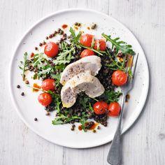 Chicken & puy lentil salad