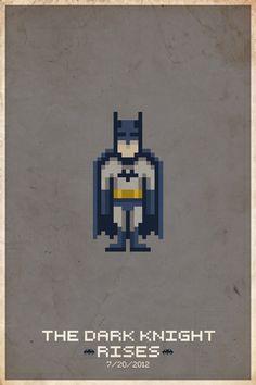 8-bit superheroes.