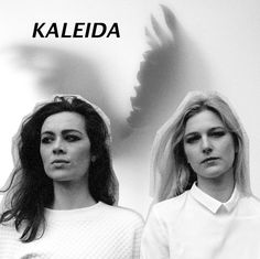 Fashion Times: Surf's Up. Synthpop duo KALEIDA Collages by Kristina Isiguro