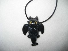 Etsy - How To Train Your Dragon Necklace - Toothless the Dragon