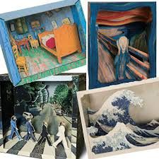 Image result for Paper Dioramas