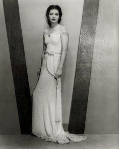 Kay Francis, One Way Passage, 1932 (gowns by Orry-Kelly) ? Old Hollywood Stars, Old Hollywood Glamour, Golden Age Of Hollywood, Vintage Glamour, Classic Hollywood, Hollywood Style, Hollywood Actresses, Hollywood Fashion, Hollywood Costume