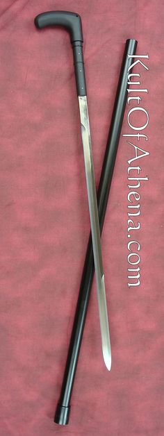 Cold Steel Heavy Duty Sword Cane. Id get this for my dad as a joke but he'd love the sword part.