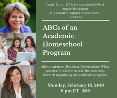 How start an academic homeschool program, not a co-op and not a for-profit business either. Curriculum, Homeschool, Classical Education, Feeling Overwhelmed, Programming, Leadership, Things To Come, Resume, Teaching Plan