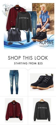"""ROMWE 5"" by aida-1999 ❤ liked on Polyvore featuring MICHAEL Michael Kors"