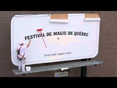 Quebec City Magic Festival - Magic Mop. Advertising Agency: Lg2, Quebec City Creative Director / Copywriter: Luc Du Sault Art Director: Vincent Bernard Illustrators: David Boivin, Vincent Bernard, Marc Rivest Accountant: Eve Boucher Agency Producer: Julie Pichette Director: David Poulin Production House: Nova Film Producer: Dominik Beaulieu Engineer: Sébastien Bolduc