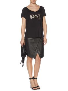black Christmas Fashion, Womens Fashion Online, V Neck Tee, Women Wear, Tees, Shopping, Black, Dresses, Style