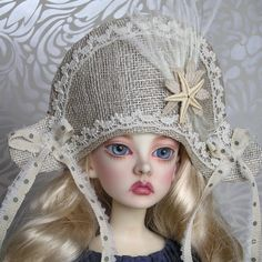 Summery Sinamay Buccaneer hat for MSD size by freakylittlethings, £28.00