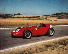 1959 GP Francji (Reims)  Ferrari 246 (Tony Brooks)