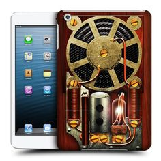 Give your iPad Mini the Steampunk treatment with this super-cool Steampunk Radio case! £7.45   http://childproofmytablet.com/steampunk-radio-ipad-mini-case/  #steampunk #ipadmini #ipadcase #hipster