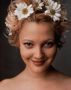 Drew Barrymore by Mark Seliger 1995