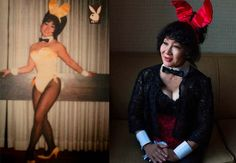 Lovely portraits of former Playboy bunnies by Sara Naomi Lewkowicz