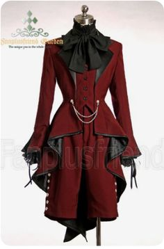 Old Fashion Dresses, Fashion Outfits, Pretty Outfits, Cool Outfits, Mode Steampunk, Fashion Design Sketches, Victorian Fashion, Victorian Outfits, Kawaii Clothes