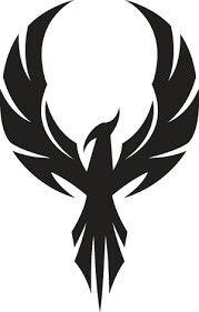 It is a phoenix. Phoenix birds reincarnate themselves from ash when they die. Body Art Tattoos, Tattoo Drawings, Tatoos, Eagle Tattoos, Tribal Tattoos, Tribal Eagle Tattoo, Tribal Logo, Indian Tattoos, Tattoos Skull